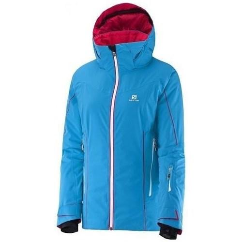 Clothing Women Jackets Salomon Whitecliff W Blue