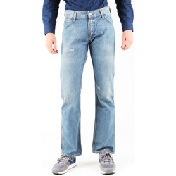 Clothing Men Straight jeans Wrangler Dayton W179EB497 blue