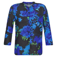 Clothing Women Shirts Desigual ANCONA Blue