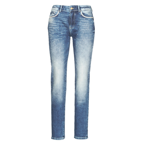 Clothing Women slim jeans Desigual SAMSA Blue