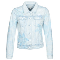 Clothing Women Denim jackets Desigual WHAII Blue