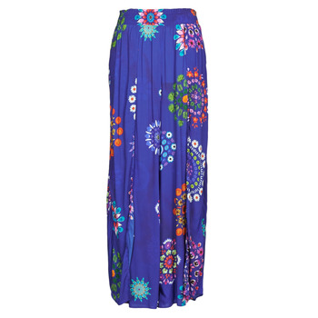 Clothing Women Wide leg / Harem trousers Desigual BONDI Blue