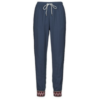 Clothing Women Wide leg / Harem trousers Desigual ISABELLA Marine