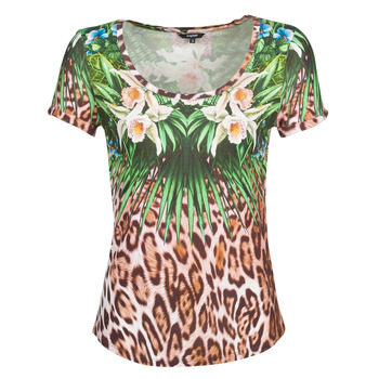 Clothing Women Short-sleeved t-shirts Desigual JUNGLE Multicolour