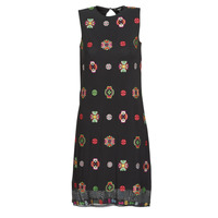 Clothing Women Short Dresses Desigual TRESOR Multicolour