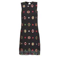 Clothing Women Short Dresses Desigual TRESOR Multicoloured