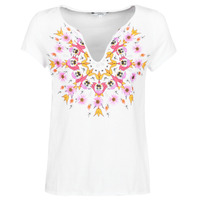 Clothing Women Short-sleeved t-shirts Desigual CROACIA White