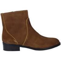 Shoes Women Ankle boots Plumers 5832 Botines Chelsea Casual de Mujer brown