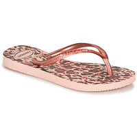 Shoes Girl Flip flops Havaianas SLIM ANIMALS Leopard