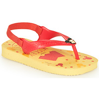 Shoes Boy Flip flops Havaianas BABY DISNEY CLASSICS II Yellow / Red