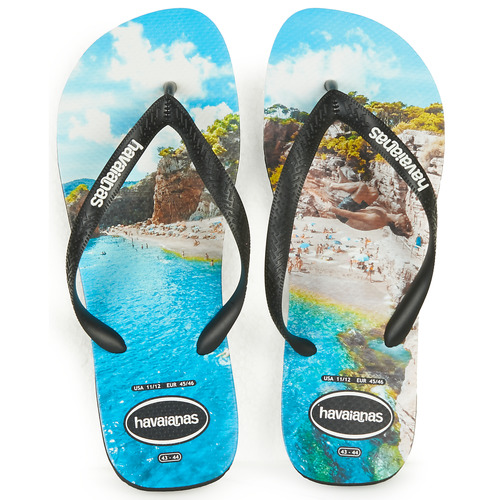 Shoes Men Flip flops Havaianas TOP PHOTOPRINT Multicoloured