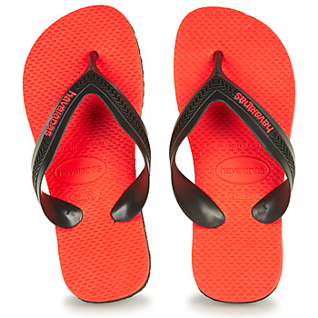 Shoes Children Flip flops Havaianas KIDS MAX  black / Red