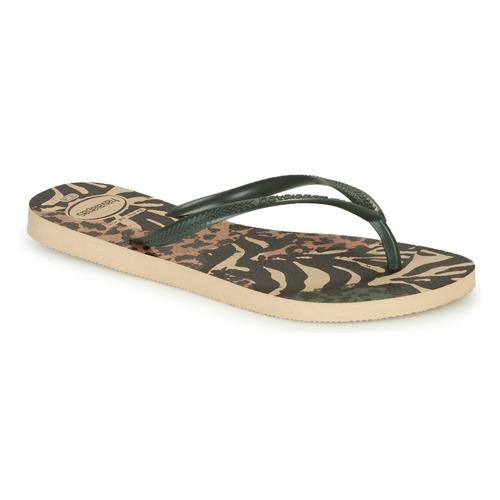 Shoes Women Flip flops Havaianas SLIM ANIMALS Multicoloured