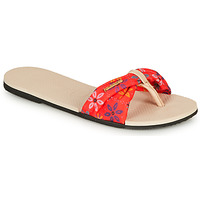 Shoes Women Sandals Havaianas YOU SAINT TROPEZ Beige / Red