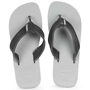Shoes Men Flip flops Havaianas URBAN BASIC II White /  black