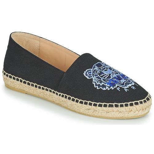 Shoes Women Espadrilles Kenzo ESPADRILLE CLASSIC TIGER Black