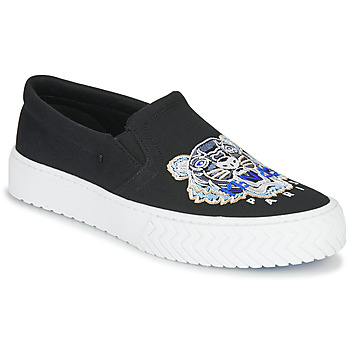 Shoes Women Slip-ons Kenzo K-SKATE SLIP ON Black