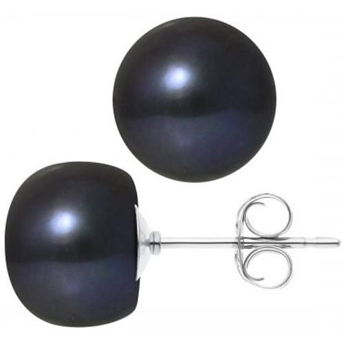 Watches Women Earrings Blue Pearls BPS K618 W - OB Multicolored