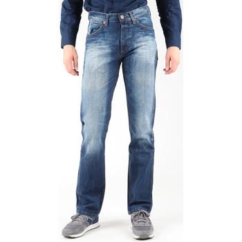 Clothing Men straight jeans Wrangler Ace W14RD421X blue