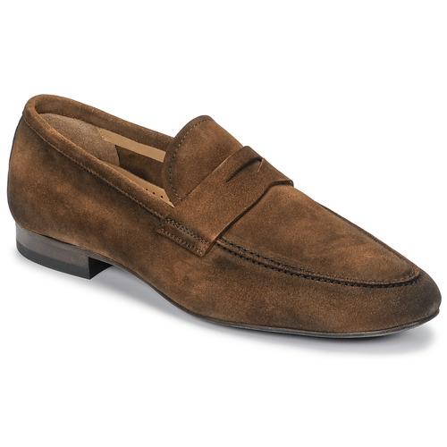Shoes Men Loafers Brett & Sons FIRICE Brown