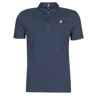 Clothing Men short-sleeved polo shirts Le Coq Sportif ESS POLO SS N°2 M Blue