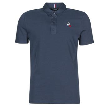 Clothing Men short-sleeved polo shirts Le Coq Sportif ESS POLO SS N°2 M Blue