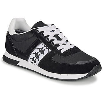 Shoes Men Low top trainers Kappa CURTIS Black / White