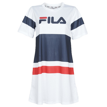 Clothing Women Short Dresses Fila Basanti White / Marine / Red