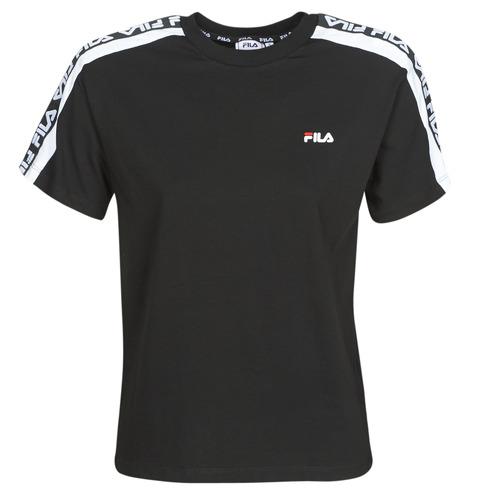 Clothing Women short-sleeved t-shirts Fila Tandy Black