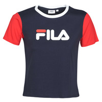 Clothing Women Short-sleeved t-shirts Fila SALOME Marine / Red