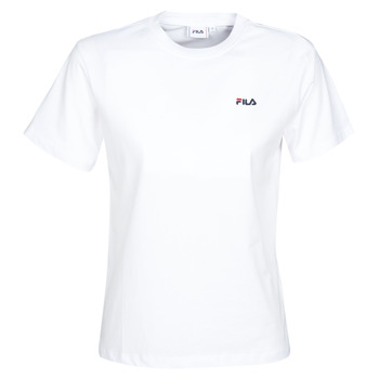 Clothing Women short-sleeved t-shirts Fila Eara White