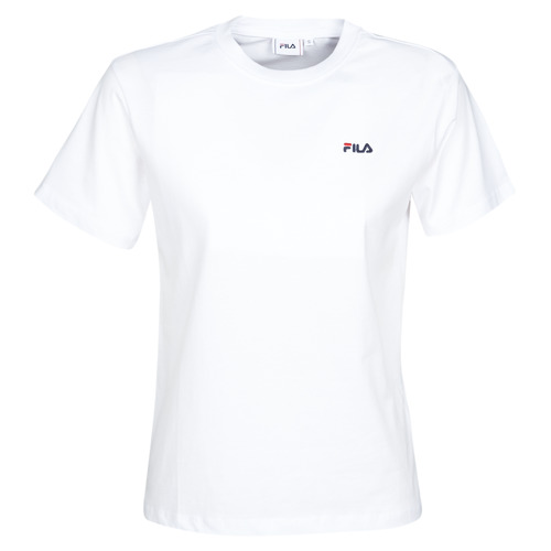 Clothing Women short-sleeved t-shirts Fila Eara White