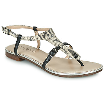 Shoes Women Sandals JB Martin 2GAELIA Black / Beige