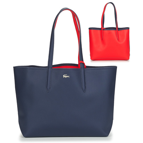 Bags Women Shopping Bags / Baskets Lacoste ANNA Marine / Red