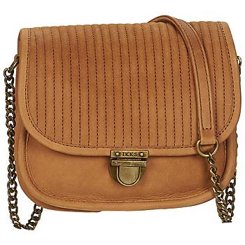 Bags Women Shoulder bags Ikks CAMERABOY Brown