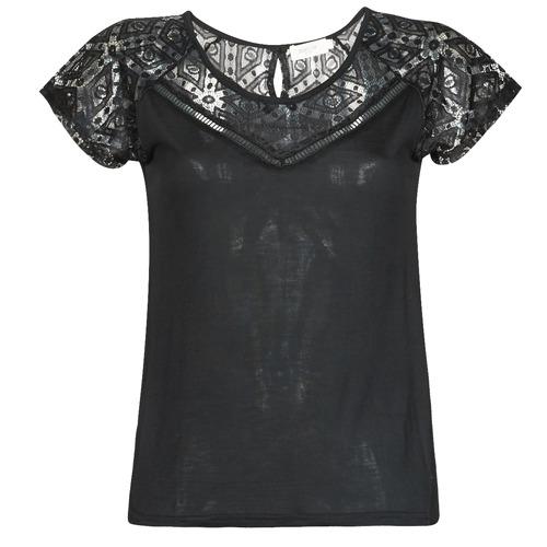 Clothing Women short-sleeved t-shirts Deeluxe CLEA Black