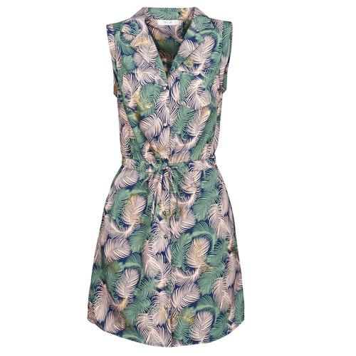 Clothing Women Short Dresses Deeluxe NESSI Multicolour