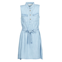 Clothing Women Short Dresses Deeluxe LALI Blue