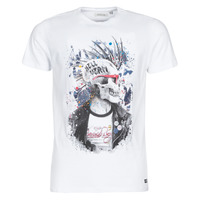 Clothing Men Short-sleeved t-shirts Deeluxe ENFIELDON White