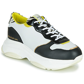 Shoes Women Low top trainers Serafini BROOKLYN White / Black