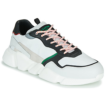 Shoes Men Low top trainers Serafini OREGON White / Black