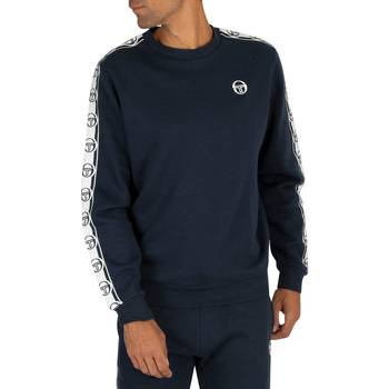 Clothing Men Sweaters Sergio Tacchini Delaco Sweatshirt blue