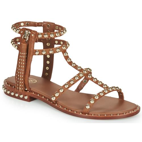 Shoes Women Sandals Ash POWER Brown