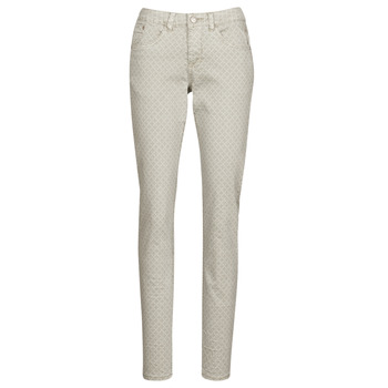 Clothing Women 5-pocket trousers Cream ANNIE Grey