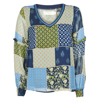 Clothing Women Tops / Blouses Cream CLODIE Blue