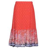 Clothing Women Skirts Cream NALITA Red