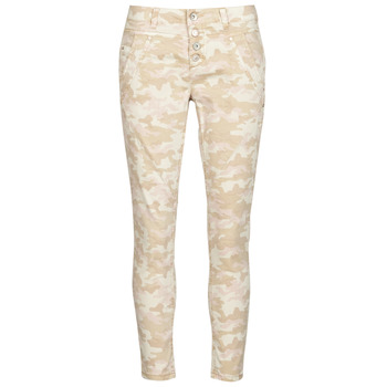 Clothing Women 5-pocket trousers Cream PENORA Beige