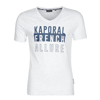 Clothing Men short-sleeved t-shirts Kaporal MANZO Grey