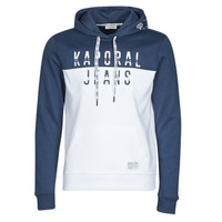 Clothing Men Sweaters Kaporal TOSCA White / Blue