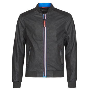 Clothing Men Leather jackets / Imitation leather Kaporal COOL Black